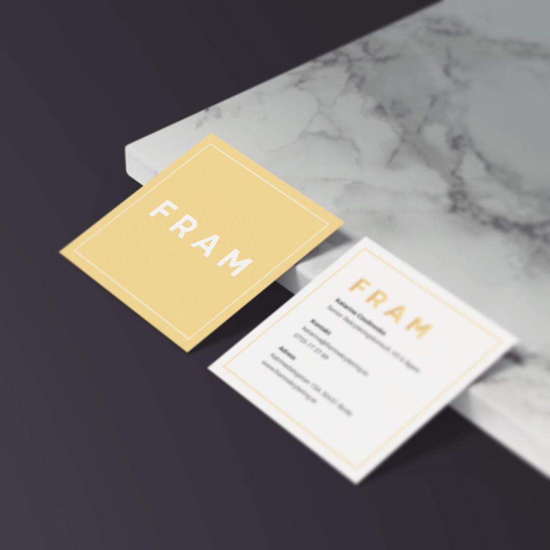 FRAM / Logotyp, visitkort, hemsida