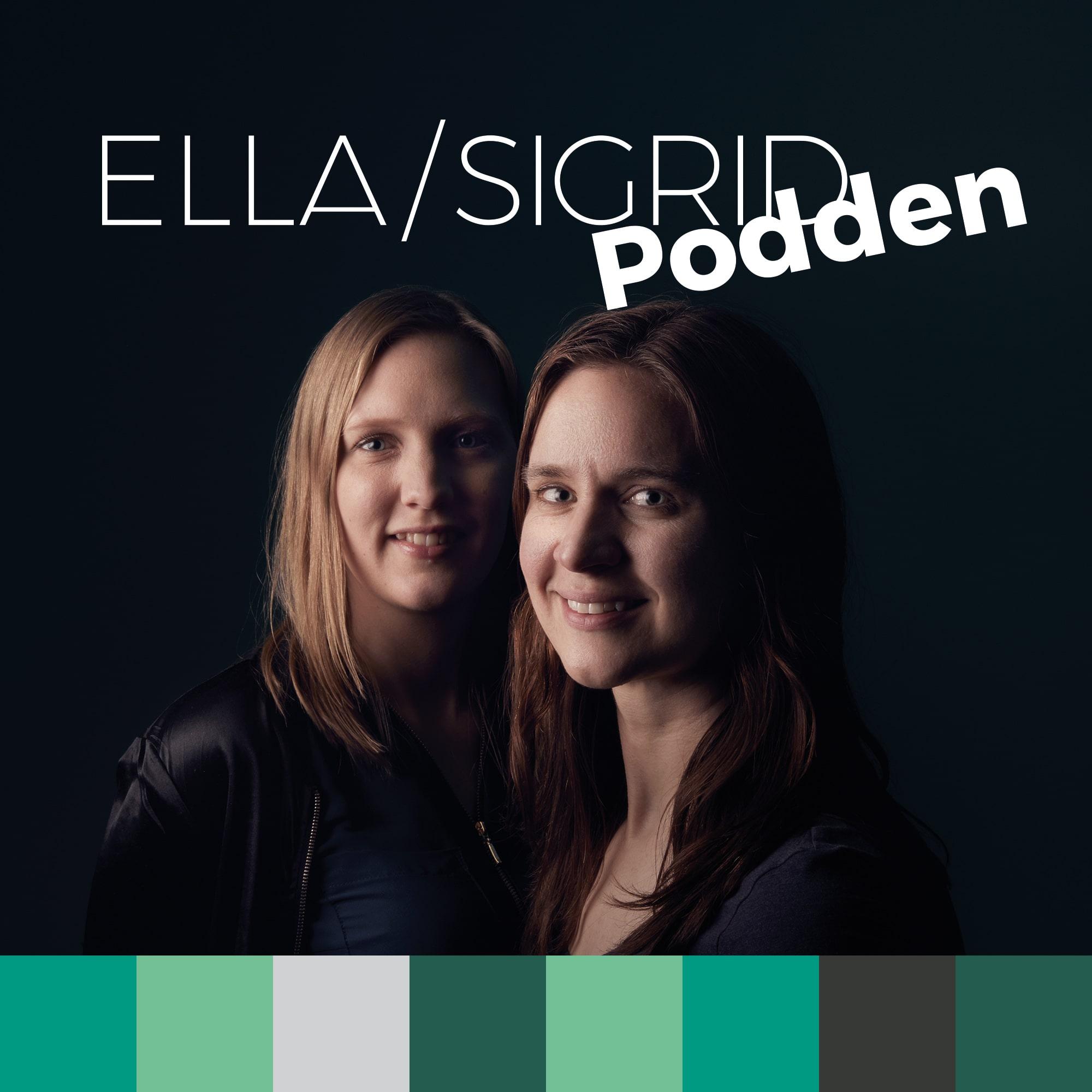 Omslagsbild Ella&Sigrid-podden