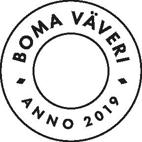 Boma Väveri - Logotyp, grafisk profil, responsiv e-handel, etiketter