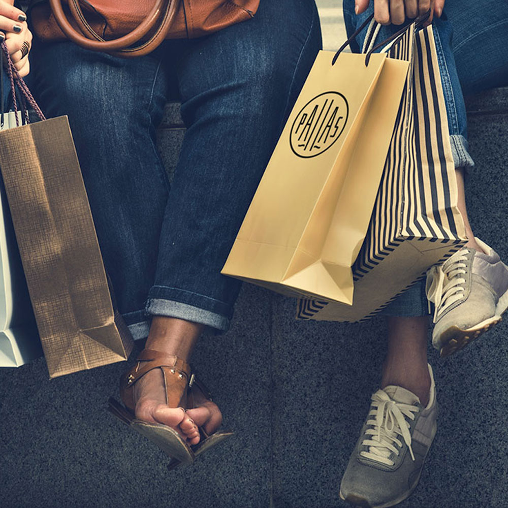Pallas Shopping - Responsiv hemsida