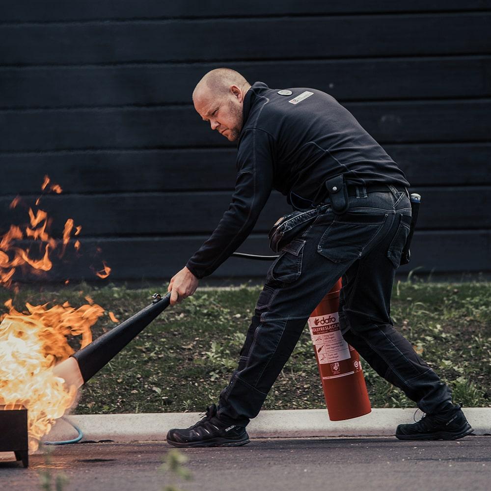 Borås Brandservice - Responsiv hemsida
