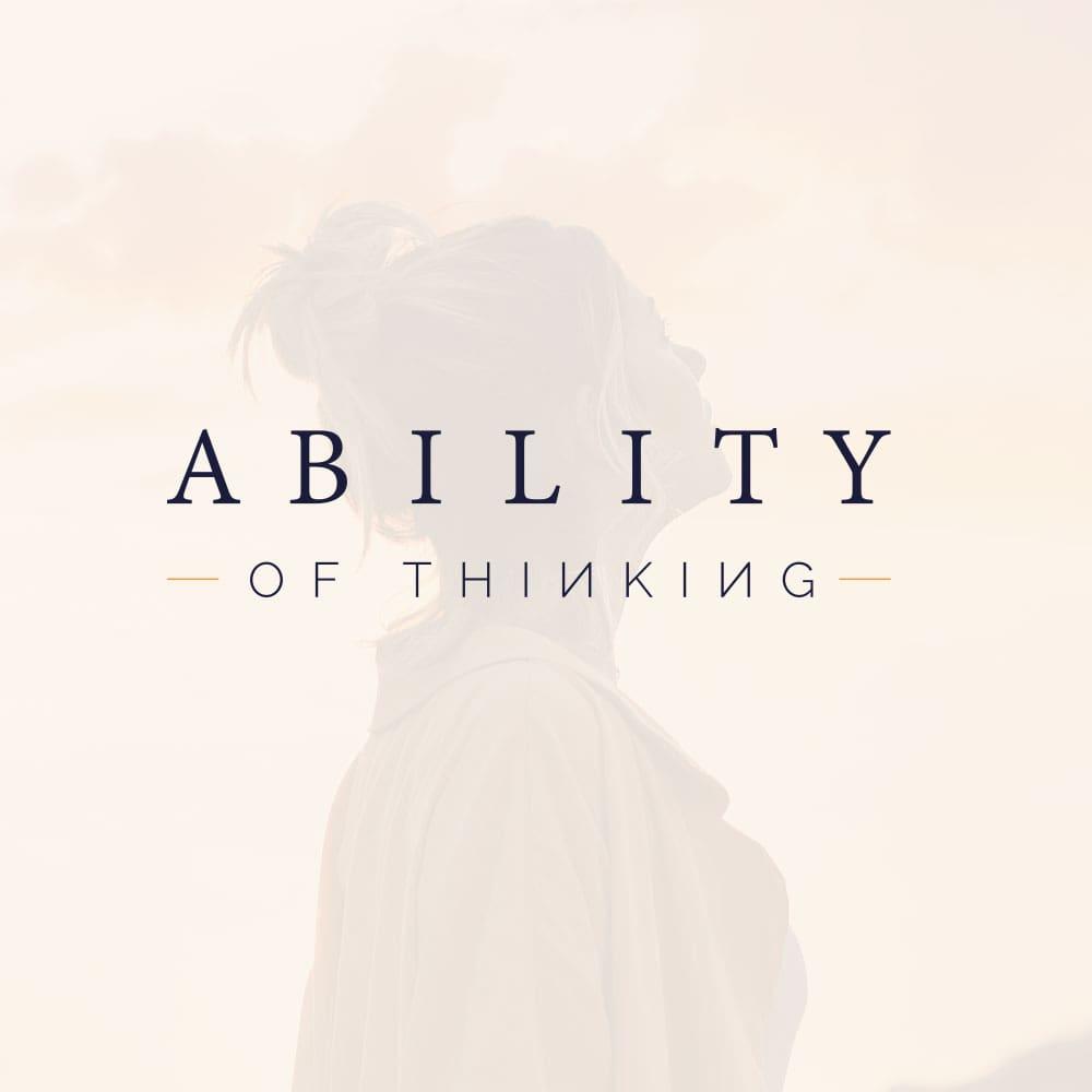 Ability of Thinking   Logotyp, grafisk profil