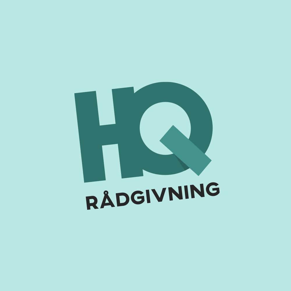 HQ Rådgivning   Logotyp, grafisk profil, hemsida