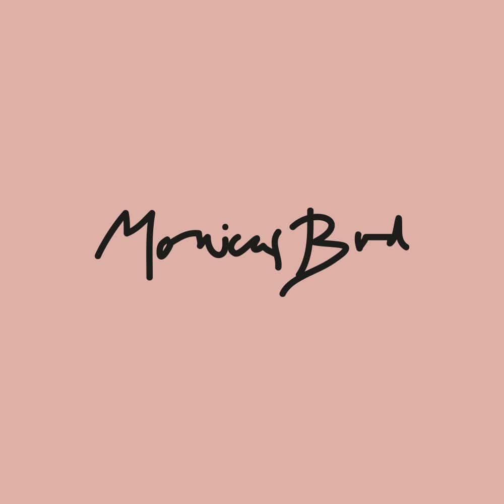 Monicas Bod / Logotyp, grafisk profil, e-handel